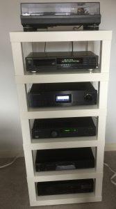 build a diy hi fi rack using ikea lack tables audio appraisal. Black Bedroom Furniture Sets. Home Design Ideas